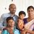 tradicional · indiano · retrato · de · família · Índia · pais · crianças - foto stock © szefei