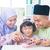 asian family playing music instrument stock photo © szefei