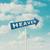 cennet · yol · işareti · örnek · dizayn · gökyüzü · soyut - stok fotoğraf © szefei