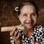 öregasszony · dohányzás · szivar · fotó · nő · hatvanas · évek - stock fotó © szefei