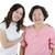 portré · kettő · idős · ázsiai · nők · néz - stock fotó © szefei