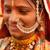 hagyományos · indiai · nő · mosolyog · portré · gyönyörű · nő - stock fotó © szefei