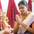 традиционный · индийской · молиться · церемония · Индия · специальный - Сток-фото © szefei