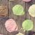 boven · roze · ijs · top · wafel - stockfoto © szefei