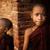 два · монах · молодые · за · пределами - Сток-фото © szefei