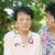 asiático · senior · mulheres · estilo · de · vida · tiro - foto stock © szefei