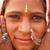hagyományos · indiai · lány · portré · nő · jelmez - stock fotó © szefei
