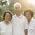 Asian seniors group smiling stock photo © szefei