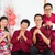 asian family reunion at home stock photo © szefei