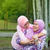 muszlim · anya · lánygyermek · boldog · délkelet · ázsiai - stock fotó © szefei