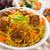 finom · arab · rizs · ramadán · étel · Közel-Kelet - stock fotó © szefei