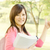 para · cima · estudar · jovem · estudante · aprendizagem · mulher - foto stock © szefei