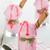 cups of pink ice cream stock photo © szefei