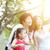 Porträt · chinesisch · Familie · Tochter · Park · Frau - stock foto © szefei