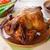 クローズアップ · ローストチキン · 新鮮な野菜 · 木材 · 鳥 - ストックフォト © szefei