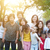 large group of asian multi generations family outdoors stock photo © szefei