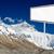 Everest · Dağı · tabelasını · yol · everest · kamp · himalayalar - stok fotoğraf © szefei