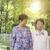 starych · znajomych · dwa · szczęśliwy · starszy · kobiet - zdjęcia stock © szefei