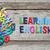 английский · школы · язык · образование · письма · цветами - Сток-фото © szefei