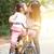 母親 · キス · 娘 · 公園 · 家族 - ストックフォト © szefei