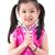 piccolo · ragazza · tradizionale · cinese · abito - foto d'archivio © szefei