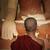 молиться · искусственное · освещение · храма · портрет · молодые - Сток-фото © szefei