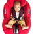baby boy sitting in car seat isolated stock photo © szefei