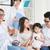 ojciec · dziecko · lekarz · kobiet · pediatra - zdjęcia stock © szefei