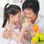 sinaasappelsap · asian · familie · drinken · gelukkig - stockfoto © szefei