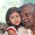 grandparent and grandchild close up face stock photo © szefei