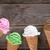 アイスクリーム · ソフト · 影 · 白 · 浅い - ストックフォト © szefei