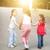 młodych · szczęśliwą · rodzinę · trzy · spaceru · zewnątrz · rodziny - zdjęcia stock © szefei