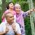 ázsiai · muszlim · család · szabadtér · boldog · délkelet - stock fotó © szefei