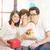 anneler · bakım · el · bebek · yüz · sevmek - stok fotoğraf © szefei