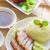 étel · Kína · disznóhús · rizs · finom · száj - stock fotó © szefei