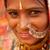 hagyományos · indiai · lány · mosolyog · portré · nő - stock fotó © szefei