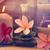 Óleo · massagem · aromático · velas · pedras · zen - foto stock © szefei