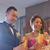 handen · bruid · bruidegom · bril · champagne · vrouw - stockfoto © szefei
