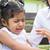 anne · rahatlatıcı · ağlayan · küçük · kız · kadın · aile - stok fotoğraf © szefei