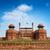 piros · erőd · Delhi · utazás · India · világ - stock fotó © szefei