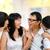 familia · hablar · Asia · adulto · hija · conversación - foto stock © szefei