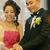 menyasszony · vőlegény · vág · esküvői · torta · recepció · esküvő - stock fotó © szefei