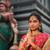 indian · vrouw · groet · volwassen · pose · geïsoleerd - stockfoto © szefei