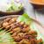 asian delicious chicken sate stock photo © szefei