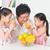 asian · familie · drinken · vers · sinaasappelsap · gelukkig - stockfoto © szefei