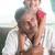 indian · padre · figlia · felice · casa · di · famiglia · asian - foto d'archivio © szefei
