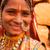 hagyományos · indiai · lány · mosolyog · boldogan · portré - stock fotó © szefei