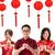 grupo · chinês · pessoas · saudação · ano · novo · chinês · isolado - foto stock © szefei