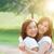 deux · heureux · asian · soeurs · portrait · de · famille · ethniques - photo stock © szefei