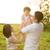 Asya · aile · oynama · açık · park · mutlu - stok fotoğraf © szefei